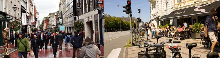 Dublin, Copenhagen